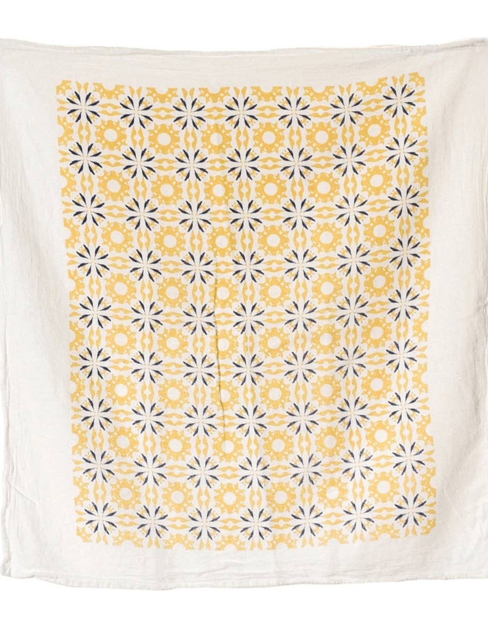 Tangerine Chicory Tea Towel