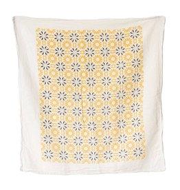Tangerine Chicory Tea Towel