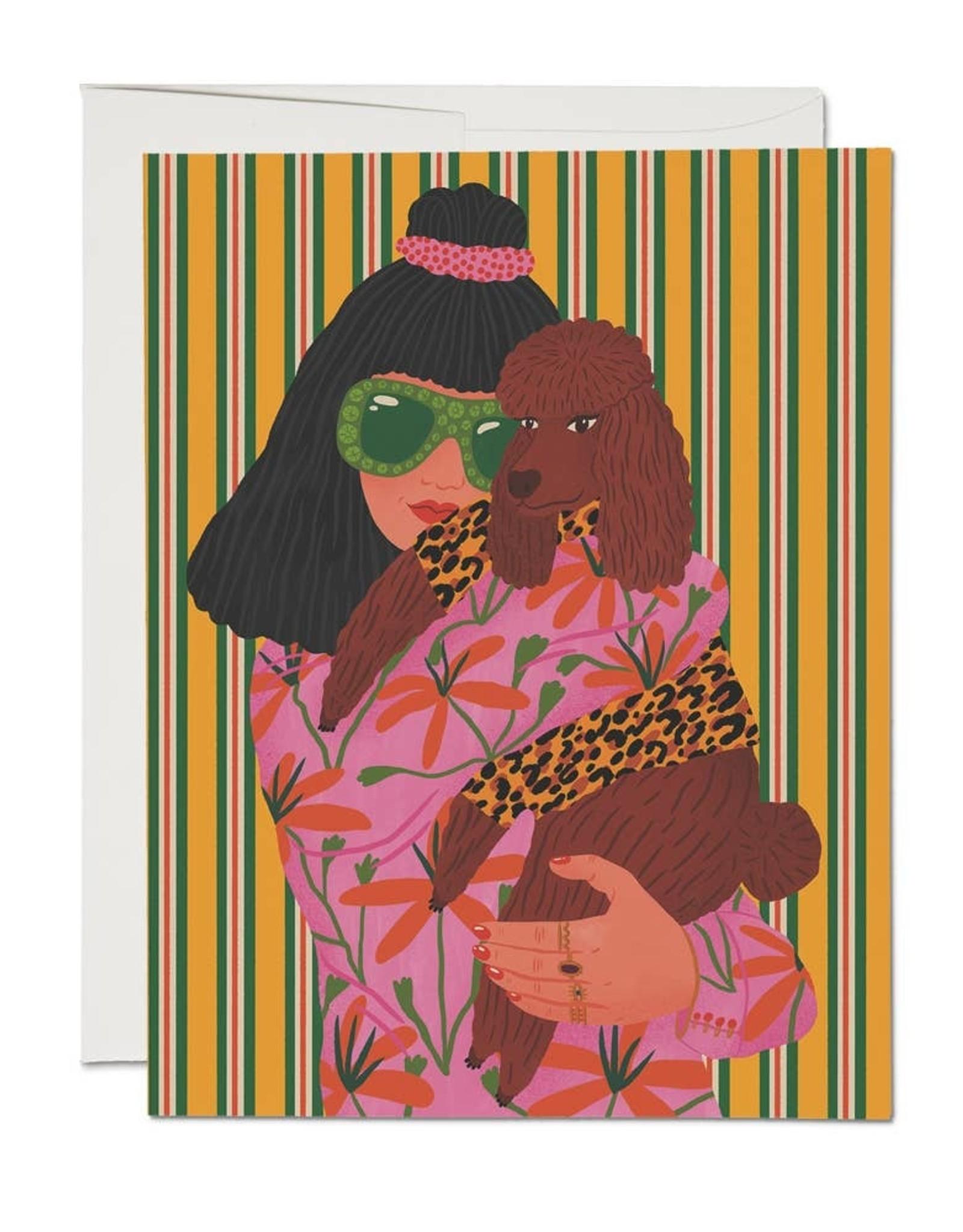 Poodle Woman