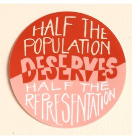 Half Representation Sticker