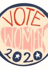 Vote Women Sticker