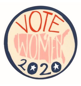 Vote Women Sticker