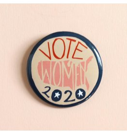 Vote Women Pin
