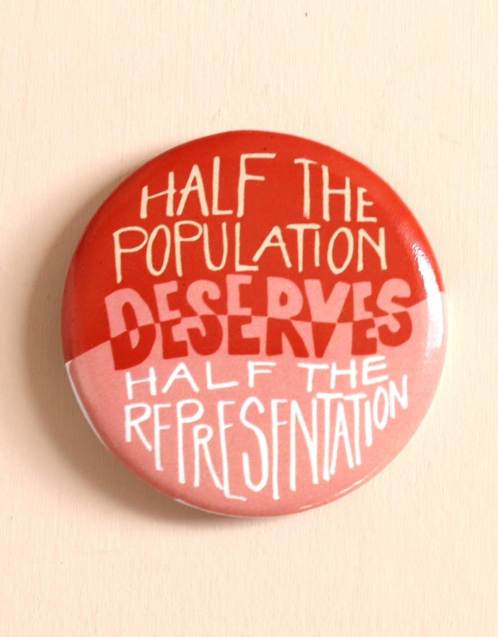 Half Representation Pin