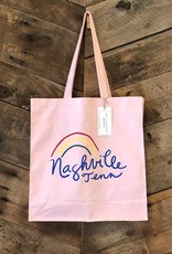 Pink Nashville Rainbow Tote