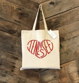 Tennessee Heart Tote Bag