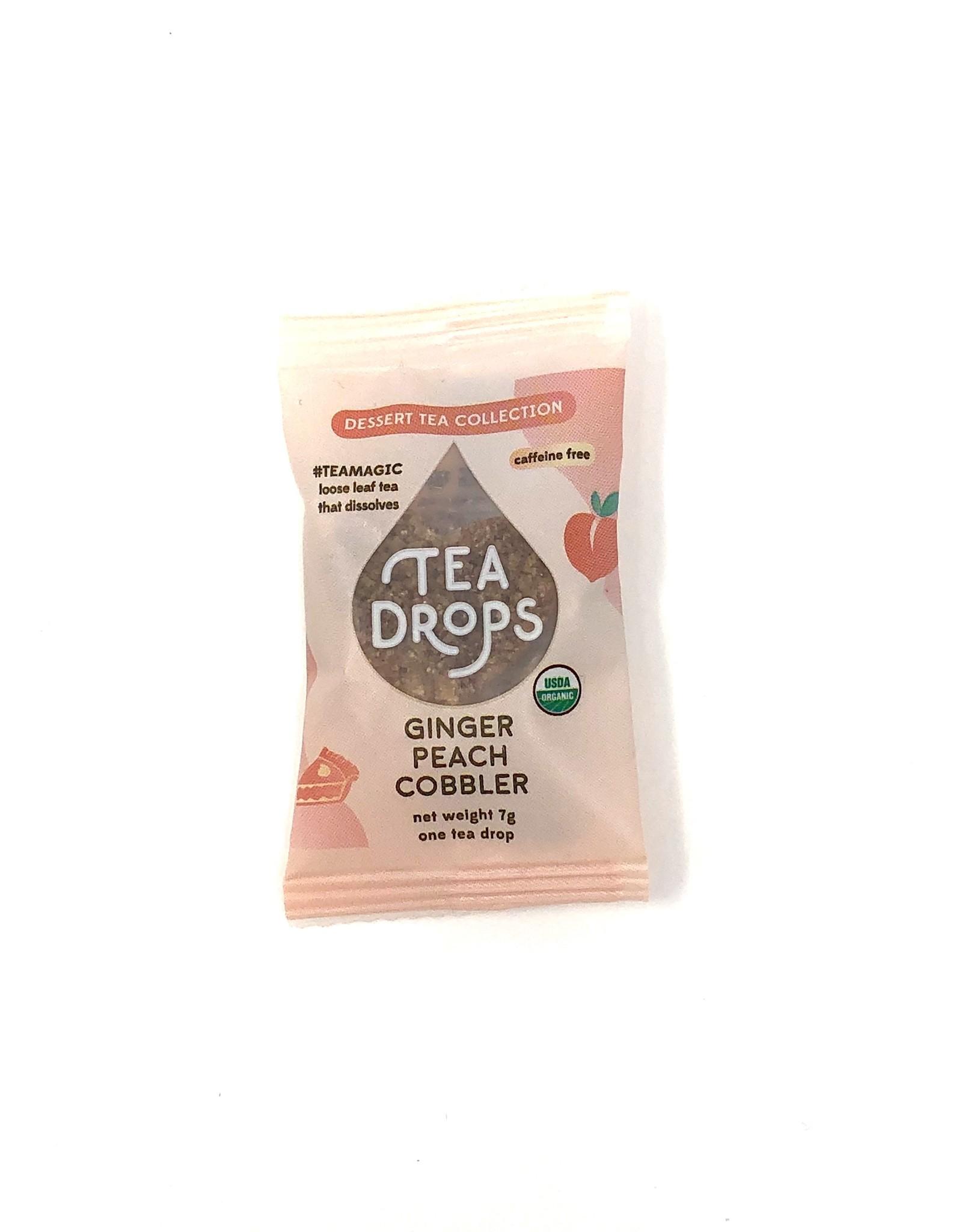 Ginger Peach Cobbler Tea Drop