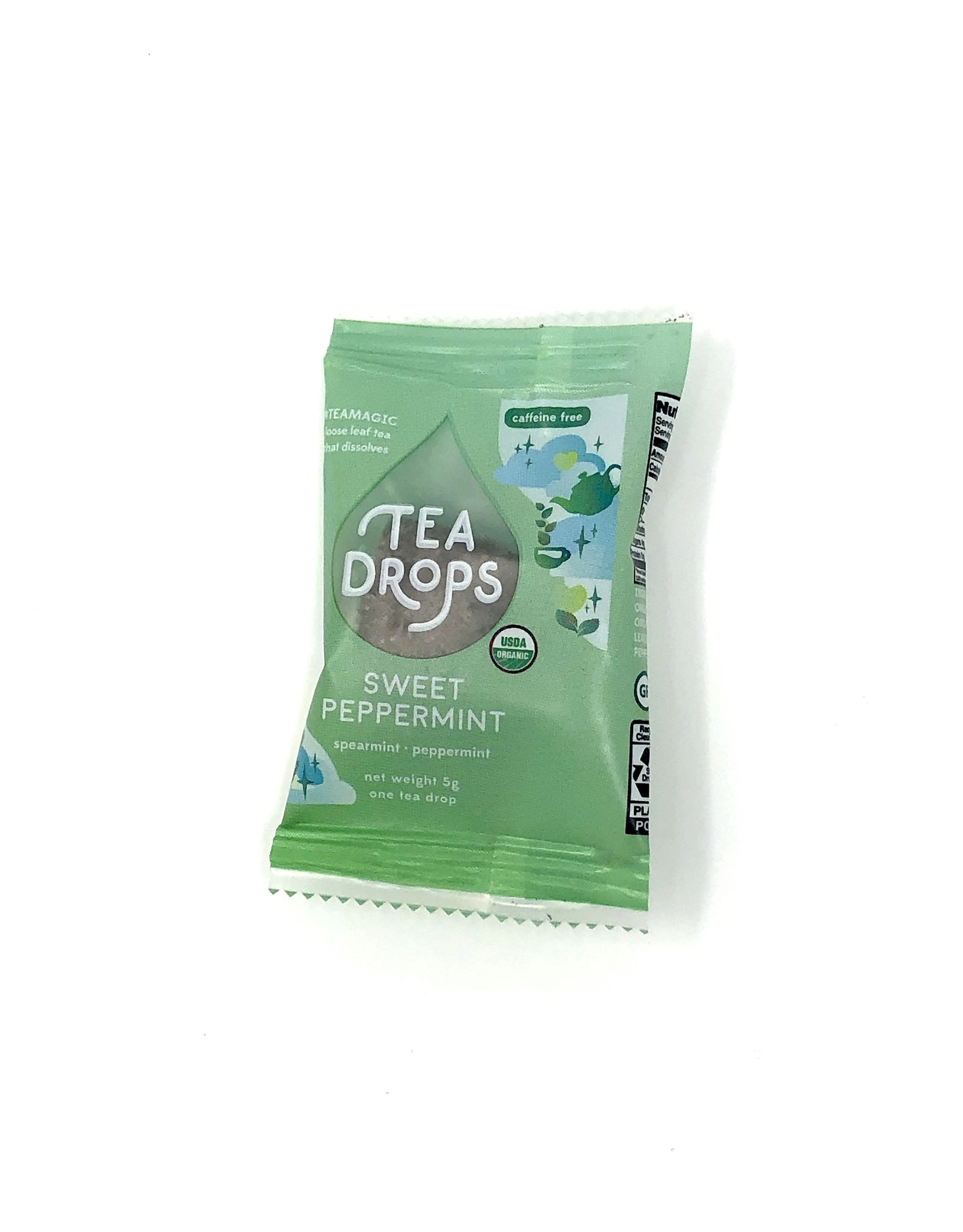Sweet Peppermint Tea Drop