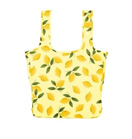 Large Lemon Nylon Tote