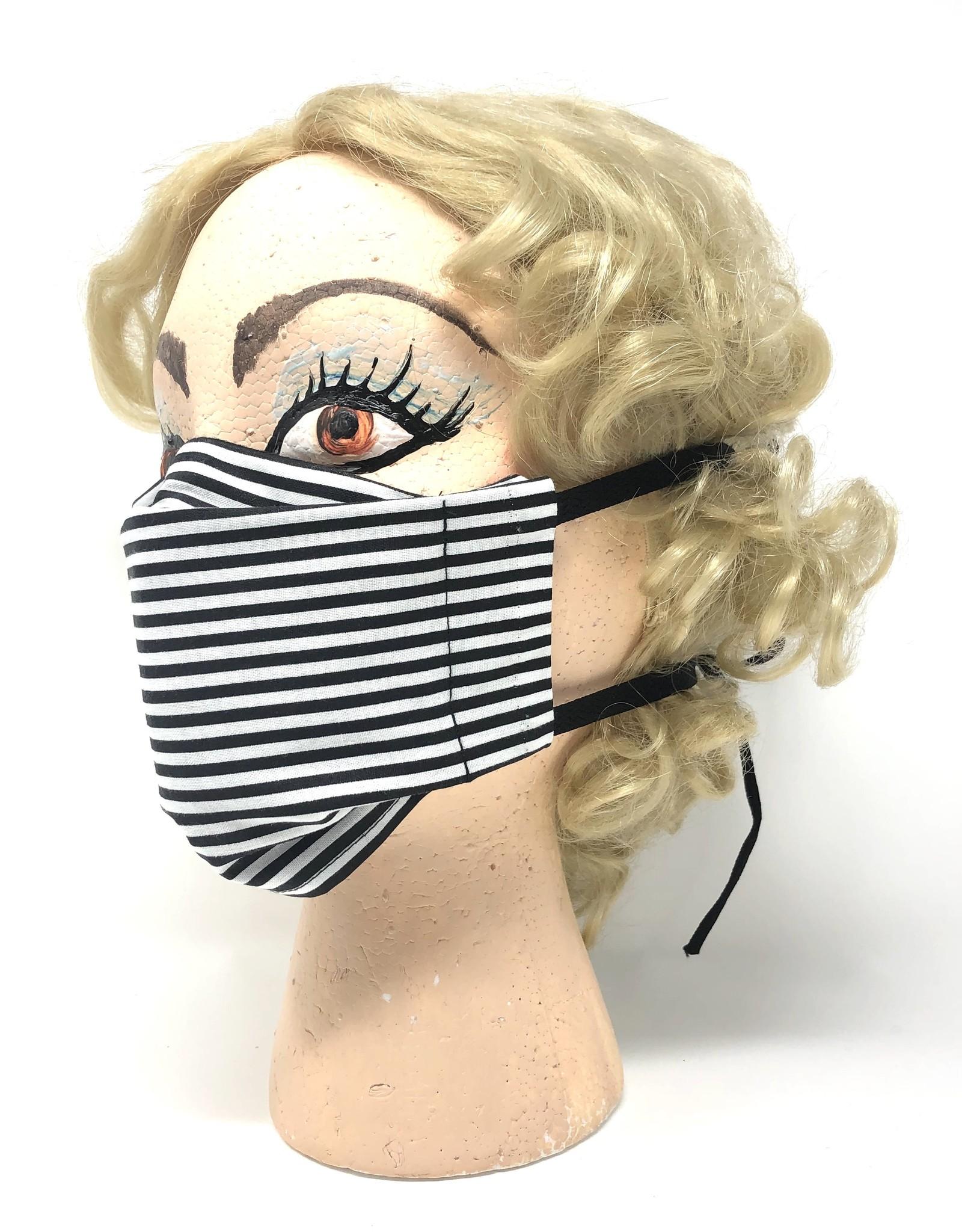 Black Stripe Mask