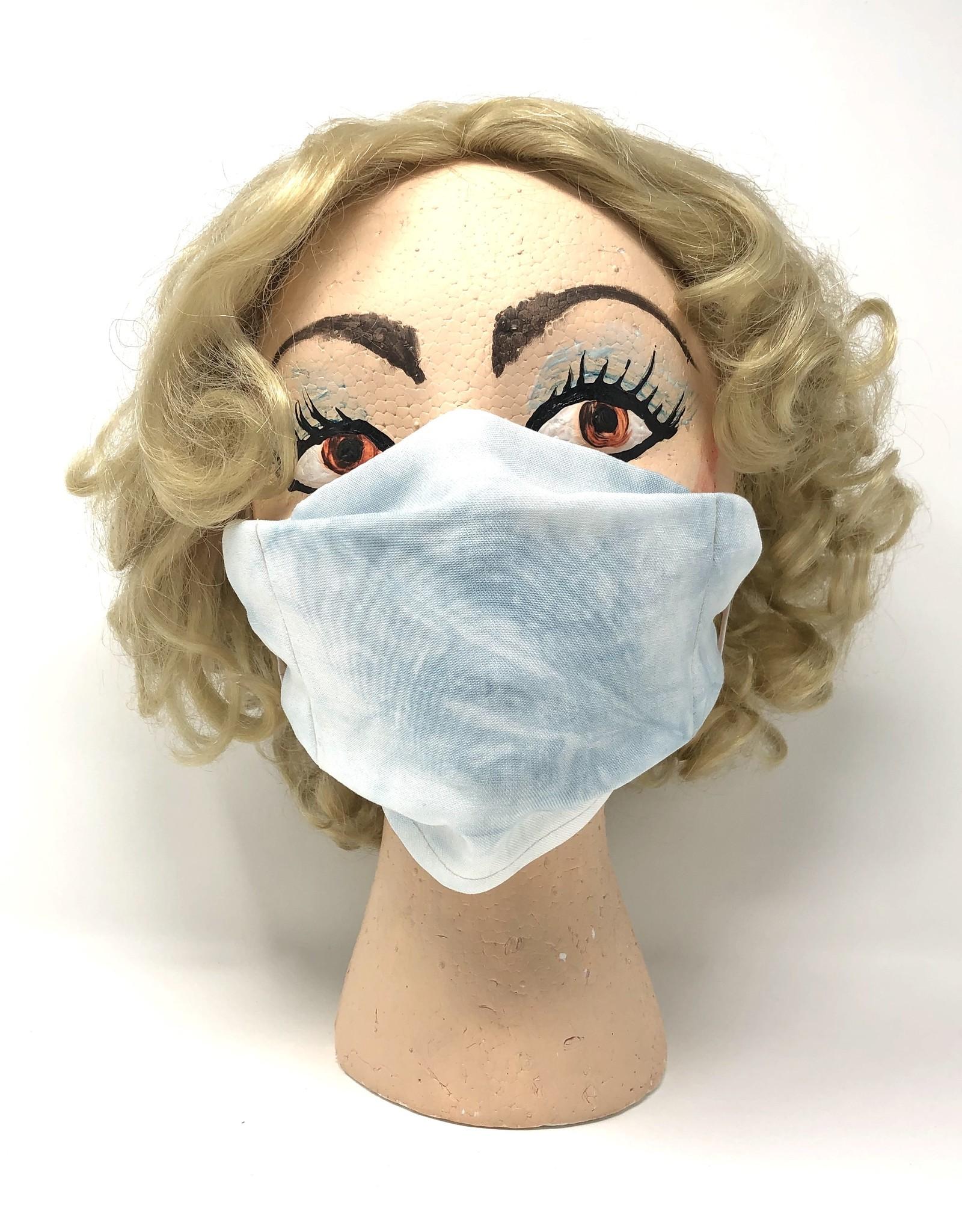 Soft Tie Dye Denim Mask