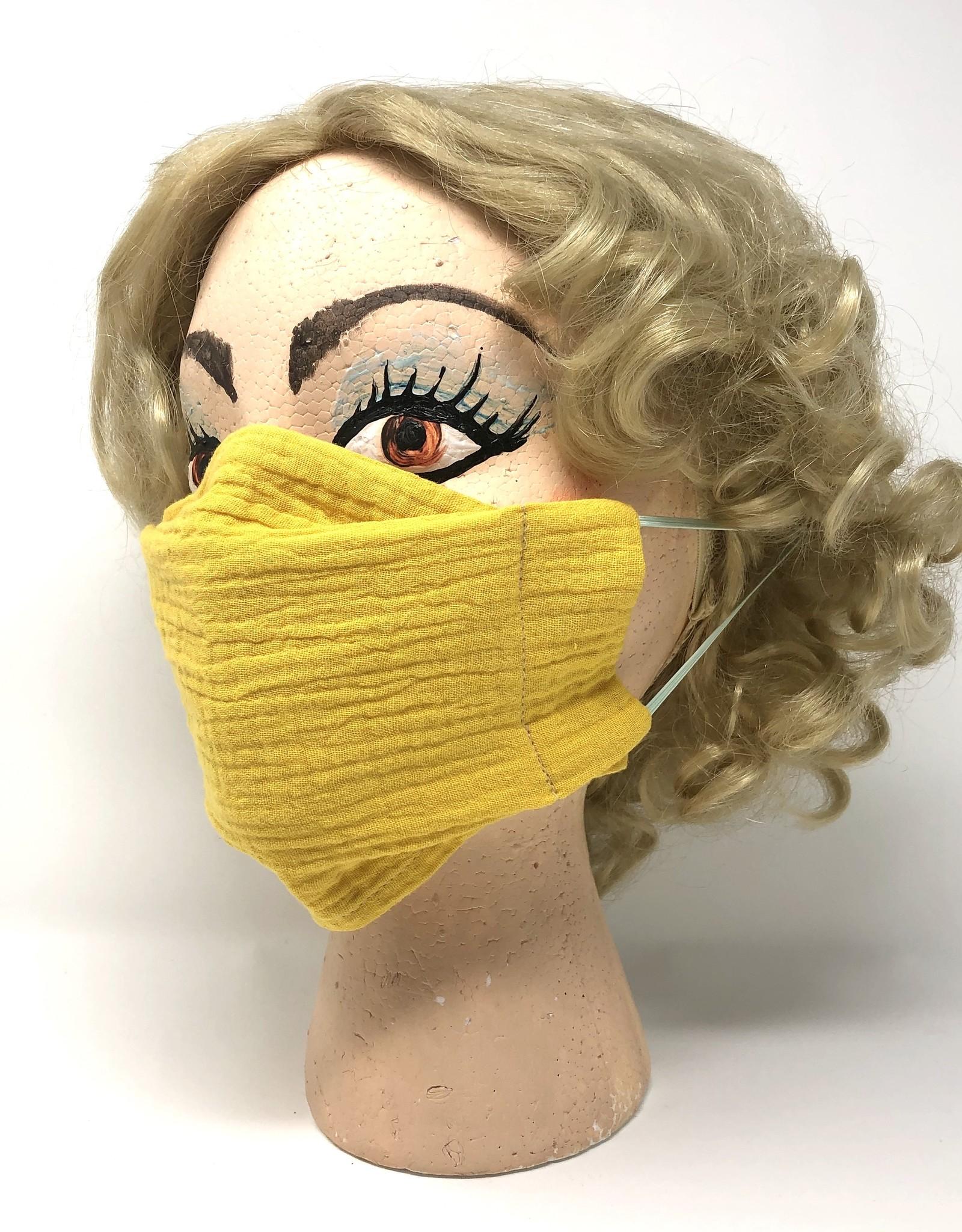 Child DYO Mustard Gauze Mask