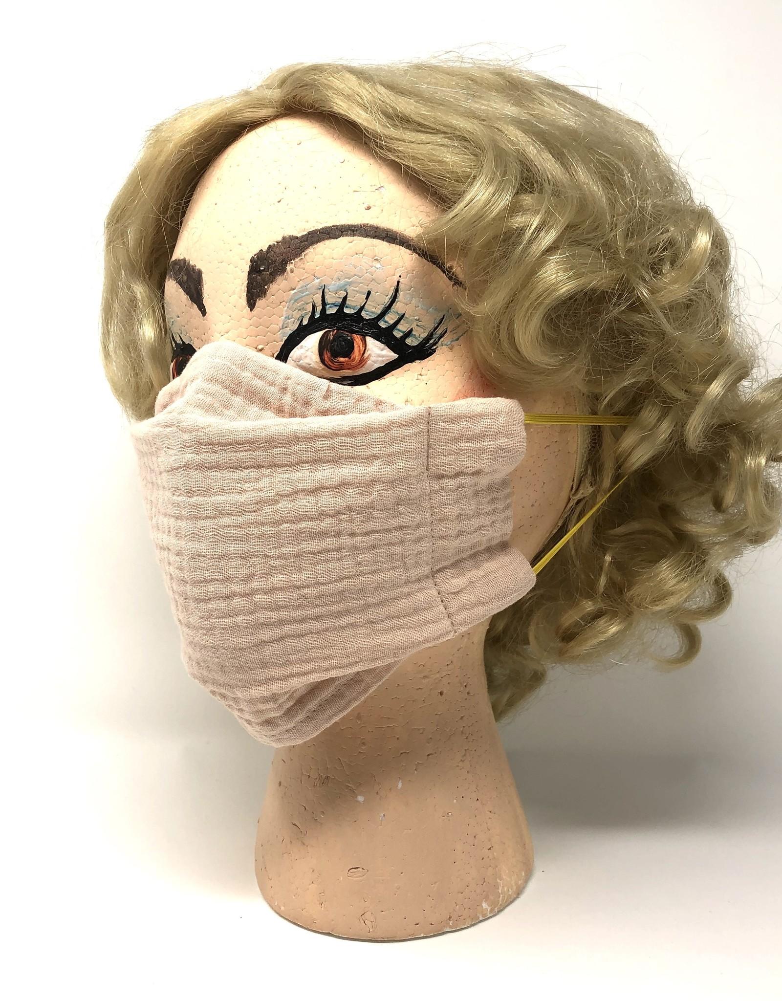 Child DYO Blush Pink Gauze Mask