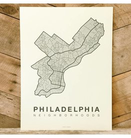 Philadelphia Neighborhood Map