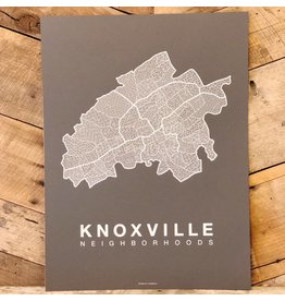 Knoxville Neighborhood Map