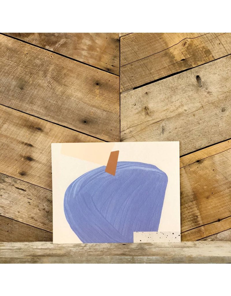 Blue Sully Print
