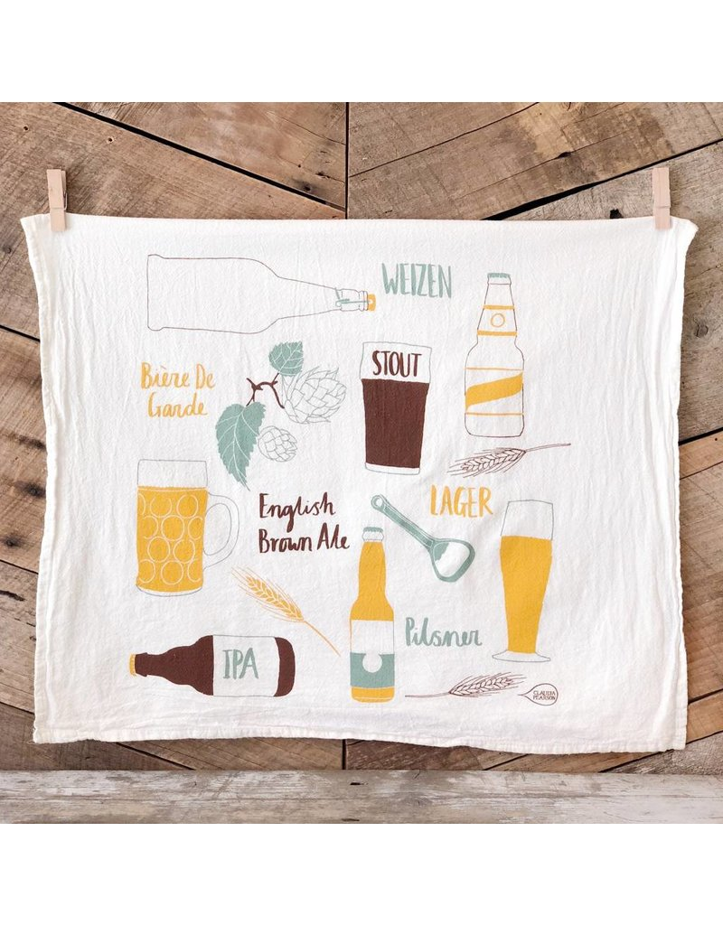 Beer Tea Towel