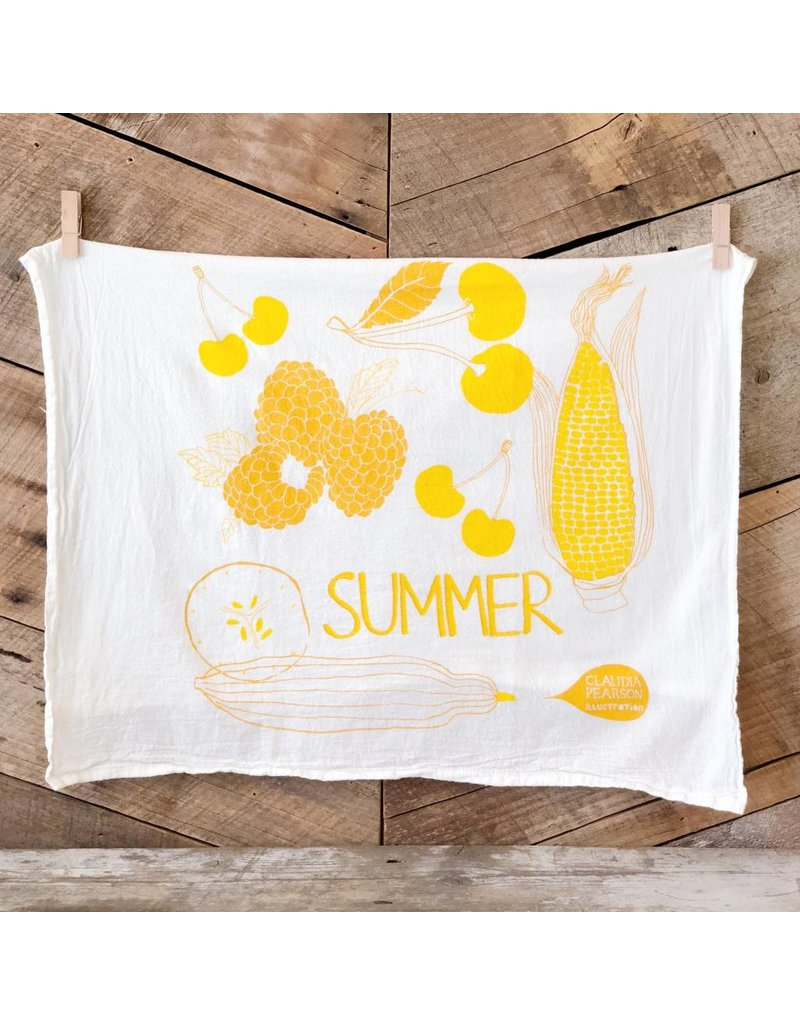 Summer Tea Towel
