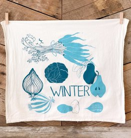 Winter Tea Towel