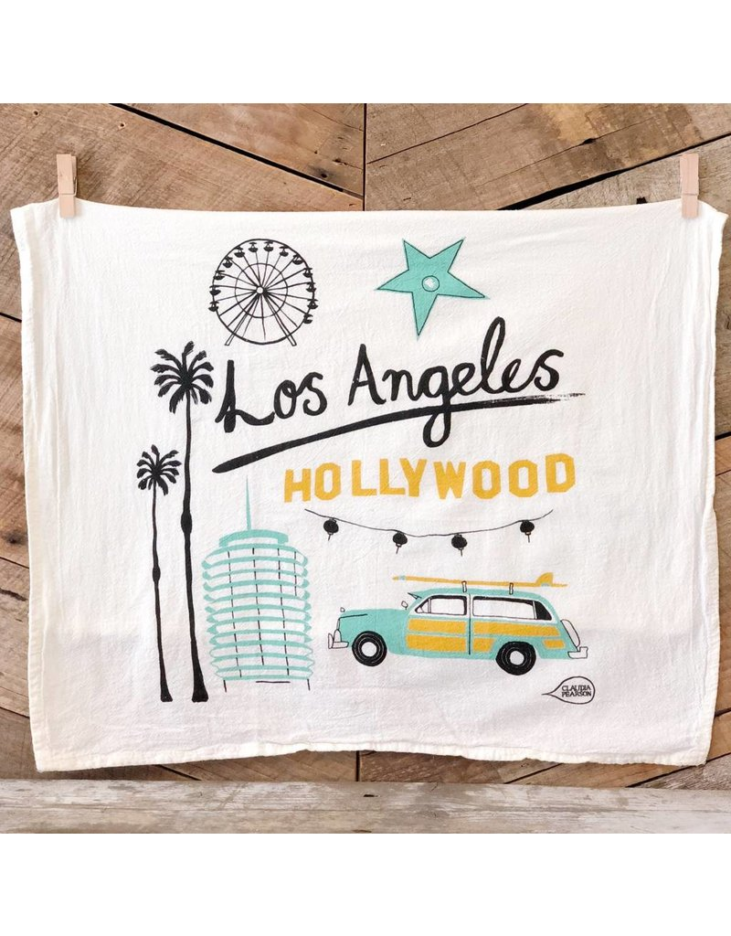 Los Angeles Tea Towel
