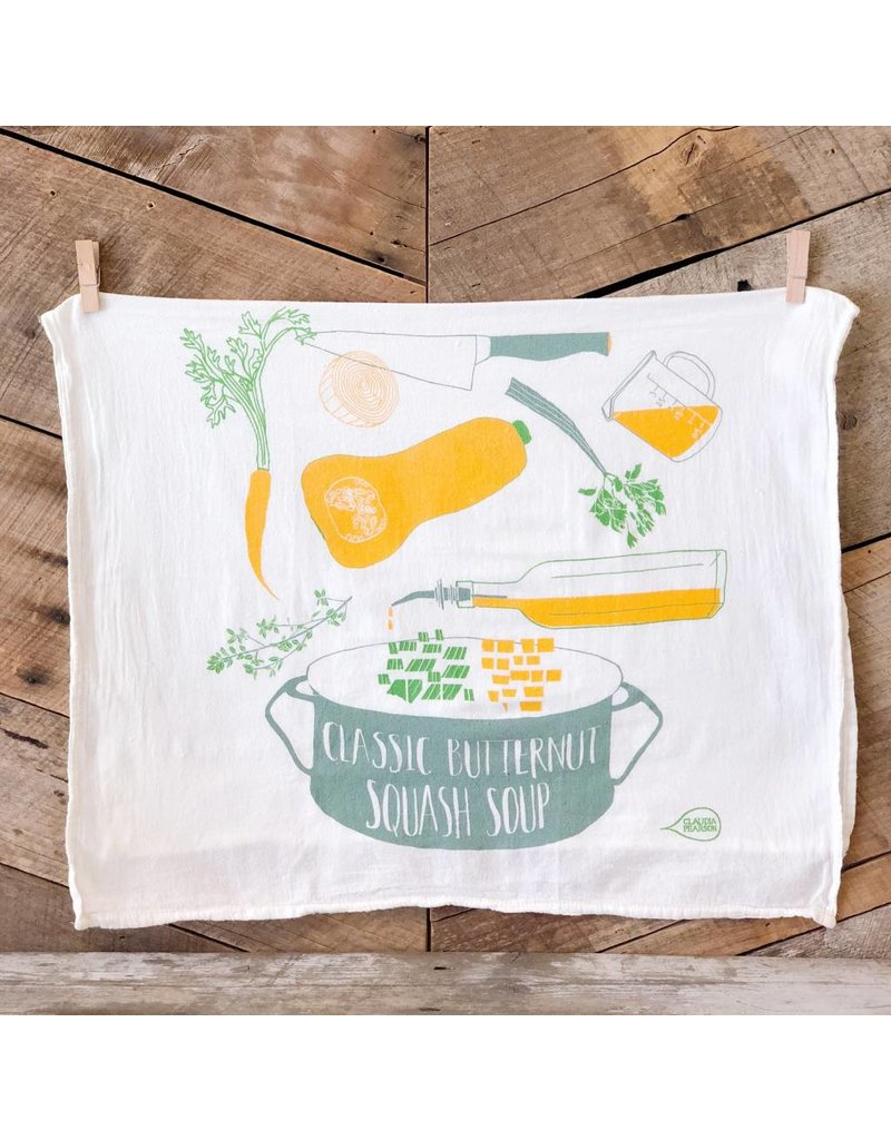 Butternut Squash Tea Towel