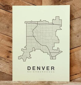 Denver Neighborhood Map