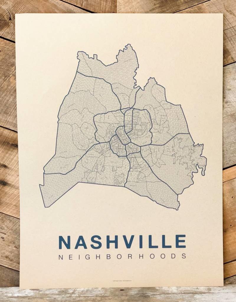 Nashville Neighborhood Map