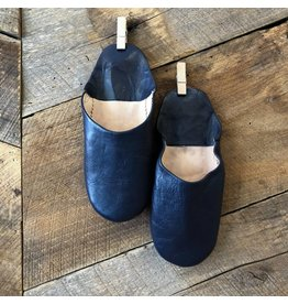 Indigo Slippers