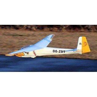 Seagull Models KA8B Sailplane 3M White ARF
