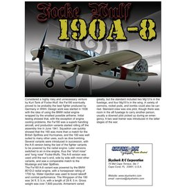 FW190A8 Printed Instruction Manual