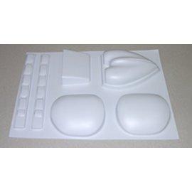 ME109G Plastic Parts