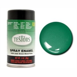 Testors Spray 3oz Jade Green Metal Flake