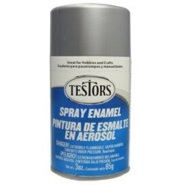 Testors Spray 3oz Chrome