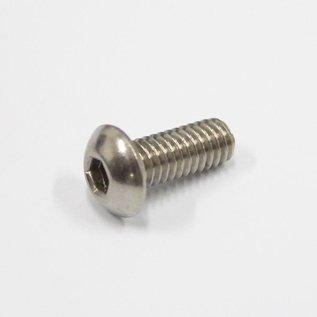 Button Head Bolt Stainless Steel M4 - 2 pk
