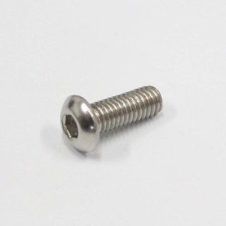 Button Head Bolt Stainless Steel M3 - 2 pk