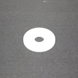 "Nylon Flat Washer 1/4"" ID 7/8"" OD 5/pk"