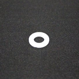 Nylon Flat Washer #10 5/pk