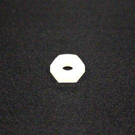 Nylon Hex Nut 8 32 5/pk