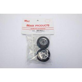 "1-1/2"" Lightweight Aluminum Wheels - MPI"