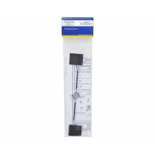 Aluminum/Carbon Fiber Flybar - MHE120SR072