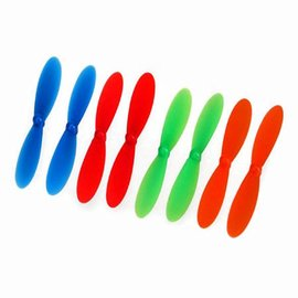 Traxxas QR-1 Rotor Blade Set, (2)Red,(2)Blue TRA6226