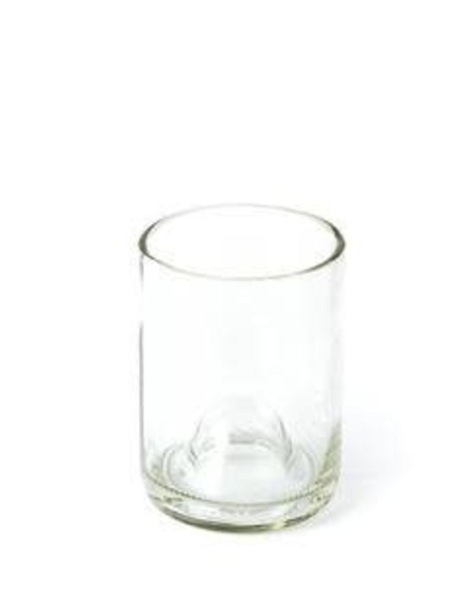 Wine Bottle Glass Clear 12oz