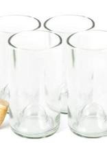 Wine Bottle Glass Clear 16oz