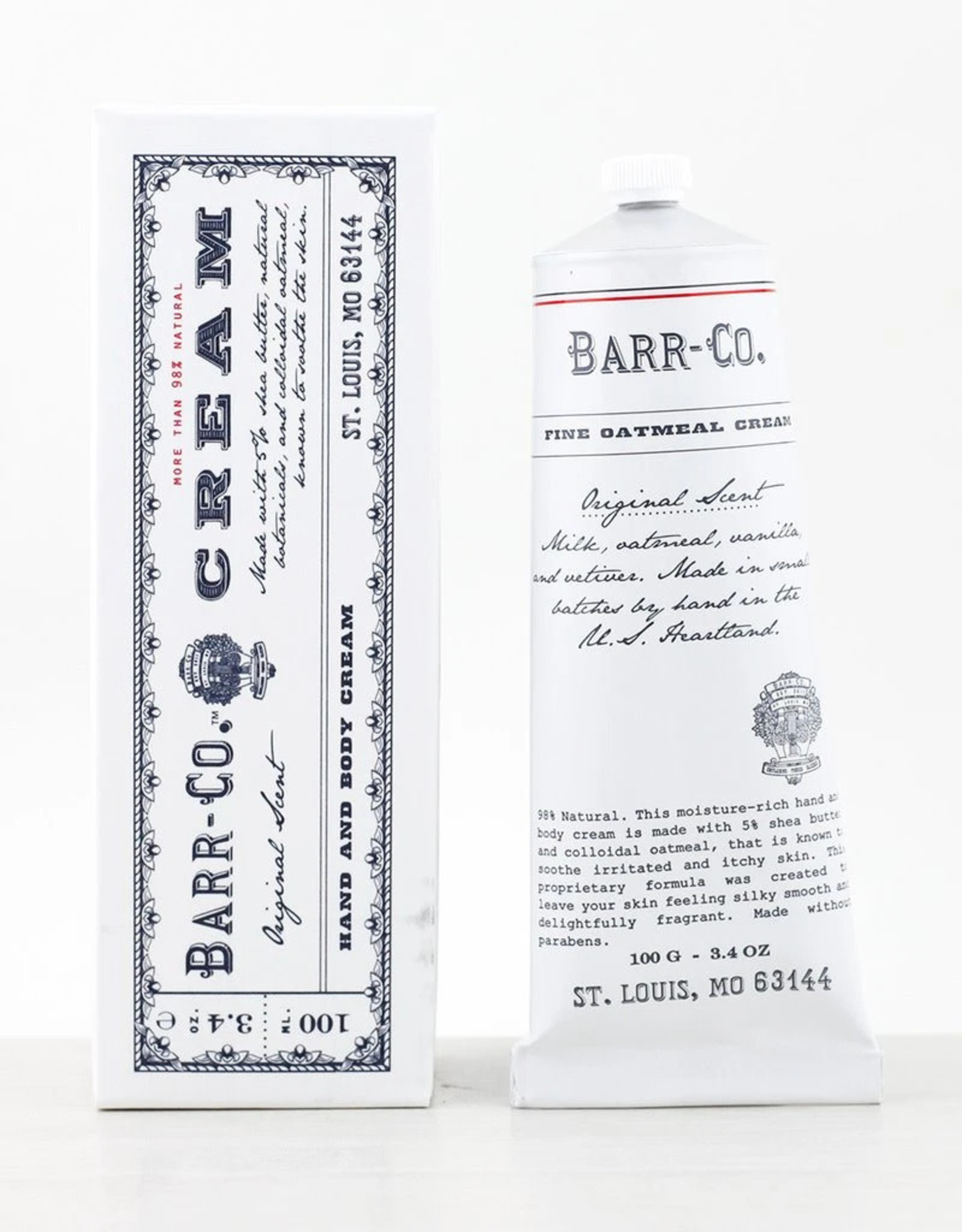 Barr-Co Original Scent Hand Cream