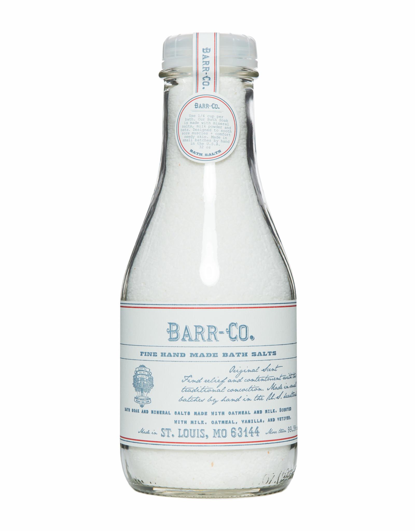 Barr-Co Original Scent Bath Salt Soak