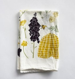 June & December Honey Bee Garden Towel