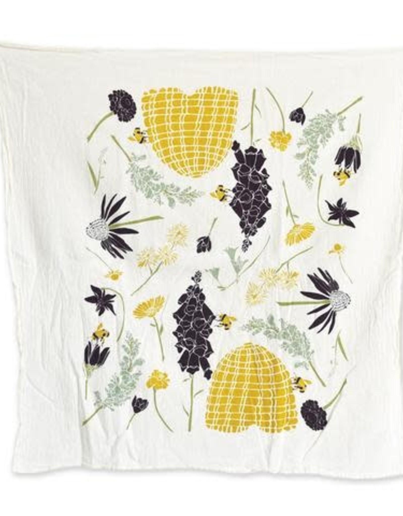 June & December Honey Bee Garden Towel