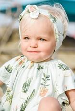 Milkbarn Bow Headband Artichoke
