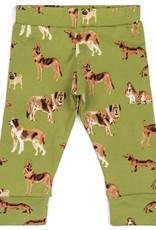 Milkbarn Leggings Green Dog- 6-12M