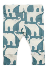 Milkbarn Leggings Blue Elephant 6-12M